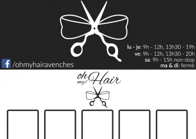 Carte de visite Oh My! Hair